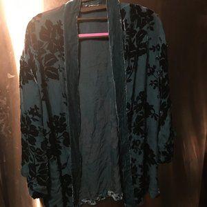 Jackets & Blazers - Burnt Velvet Polyester Jacket - 235